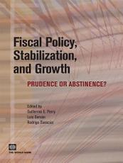 Fiscal Policy  Stabilization  and Growth PDF
