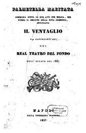 Palmetella maritata: commedia buffa in due atti per musica, che forma il seguito della nota commedia intitolata Il ventaglio : nel Real Teatro del Fondo nell'estate del 1837