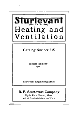 Heating and Ventilation: Catalog Number 215