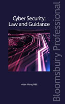 Cyber Security Law And Guidance