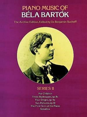 Piano music of B  la Bart  k