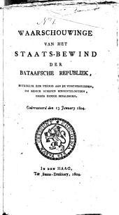 Publicatien van de Bataafsche Republiek, 11. Juny 1795-30 Mei 1806: Volume 9