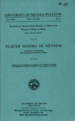 B027: Placer mining in Nevada