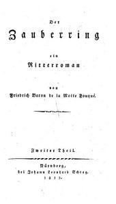 Der Zauberring: ein Ritterroman, Band 2