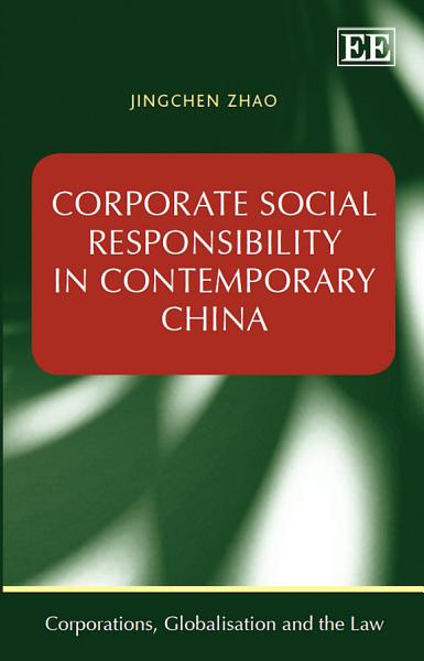 Corporate Social Responsibility in Contemporary China PDF