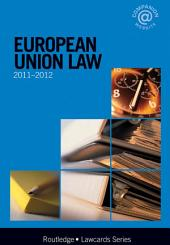 European Union Lawcards 2011-2012: Edition 8