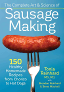 The Complete Art and Science of Sausage Making Book