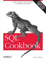 SQL Cookbook PDF