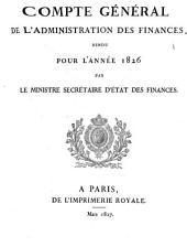 Comptes rendus par les ministres: Volume36