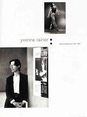 Yvonne Rainer PDF