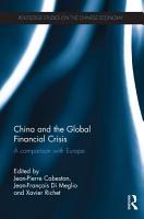China and the Global Financial Crisis PDF