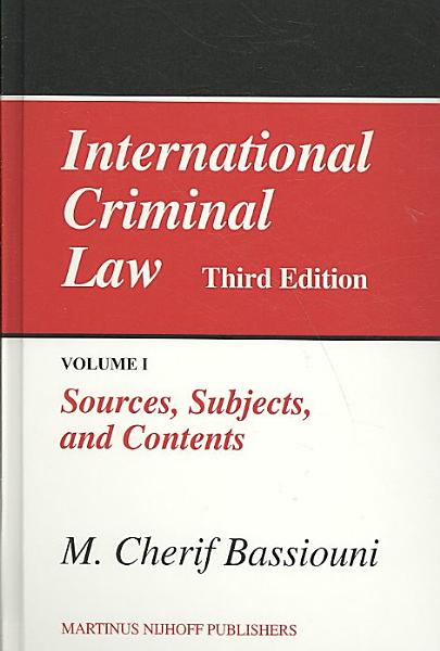 Download International Criminal Law Book
