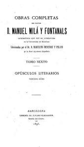 Obras completas: Volumen 6