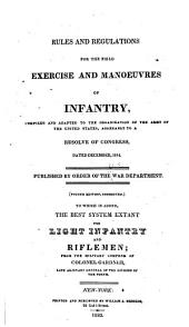 Rules and regulations for the field exercise and manoeuvres of infantry