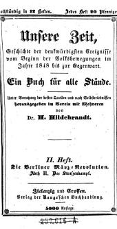 Die Berliner März-Revolution ; Abth. II.: Der Straßenkampf: Band 2
