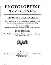 Histoire naturelle: entomologie, ou histoire naturelle des crustacés, des arachnides et des insectes, Volume10