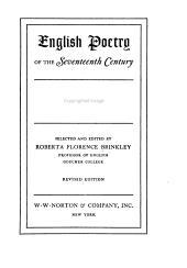 English Poetry of the Seventeenth Century PDF