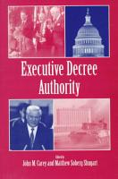 Executive Decree Authority PDF