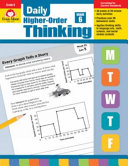 Daily Higher-Order Thinking, Grade 6