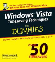 Windows Vista Timesaving Techniques For Dummies PDF