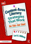 Content Area Literacy Strategies That Work