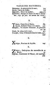 Quinte-Curce De la vie et des actions d'Alexandre le Grand: Volume2