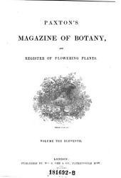 Magazine of Botany and Register of Flowering Plants: Volume 11