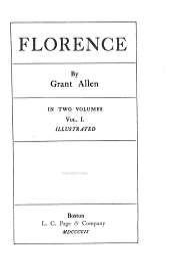 Florence: Volume 1