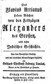 Von den Feldzügen Alexanders des Großen