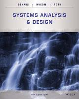 Systems Analysis and Design PDF
