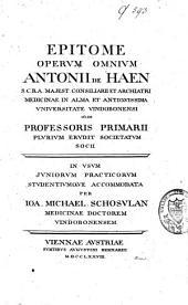 Epitome operum omnivm