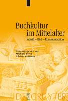 Buchkultur im Mittelalter PDF