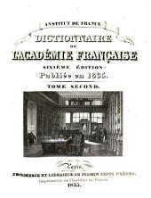 Dictionnaire de l'Académie française: Volume2