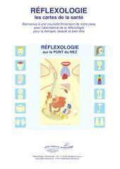 RÉFLEXOLOGIE sur le PONT du NEZ: Réflexologie - les cartes de la santé