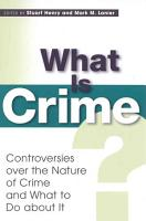 What is Crime  PDF
