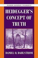 Heidegger s Concept of Truth PDF