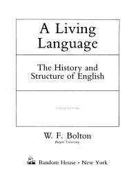 A Living Language