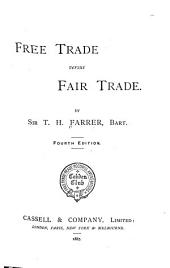 Free Trade Versus Fair Trade