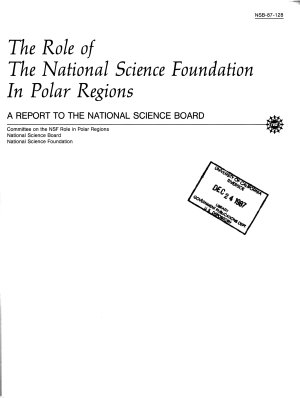 The Role of the National Science Foundation in Polar Regions