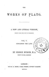 The Works of Plato: The laws