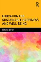 Education for Sustainable Happiness and Well Being PDF