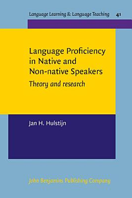Language Proficiency in Native and Non native Speakers PDF