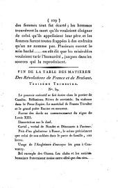 Révolutions de France et de Brabant