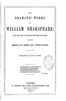 The Dramatic Works of William Shakspeare PDF
