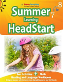 Summer Learning HeadStart  Grade 7 to 8  Fun Activities Plus Math  Reading  and Language Workbooks