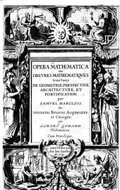 Opera mathematica