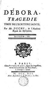 Débora: tragédie tirée de l'ecriture Sainte