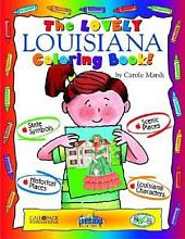 The Lovely Louisiana Coloring Book!