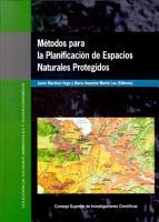 M  todos para la Planificaci  n de Espacios Naturales Protegidos PDF