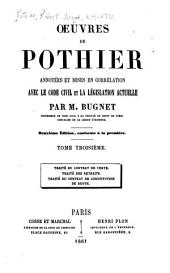 Œuvres de Pothier: Volume3